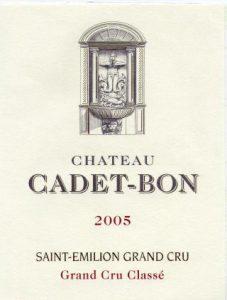 Château Cadet-Bon