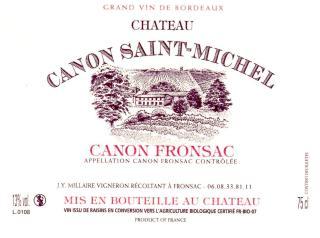 Château Canon Saint-Michel