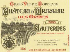 Château d'Armajand des Ormes