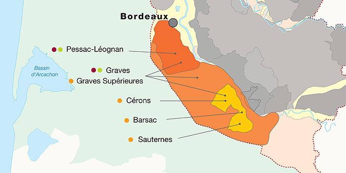 Graves und Sauternes