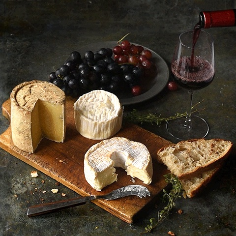 Wine & cheese feast