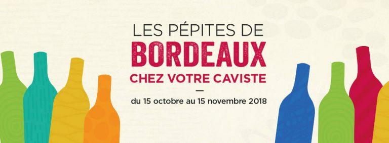 À la découverte des pépites de Bordeaux chez votre caviste.