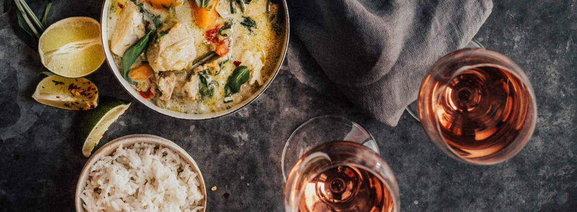 Easy curry recipes paired with Bordeaux wines