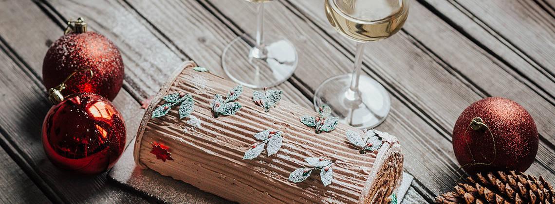 Trouvez le vin parfait pour toute bûche de Noël
