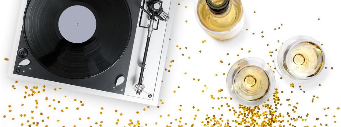 Onze afspeellijst voor wijn en muziek met kerst