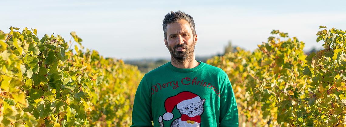 Les conseils vins de Tonton Fabien le vigneron pour Noël.