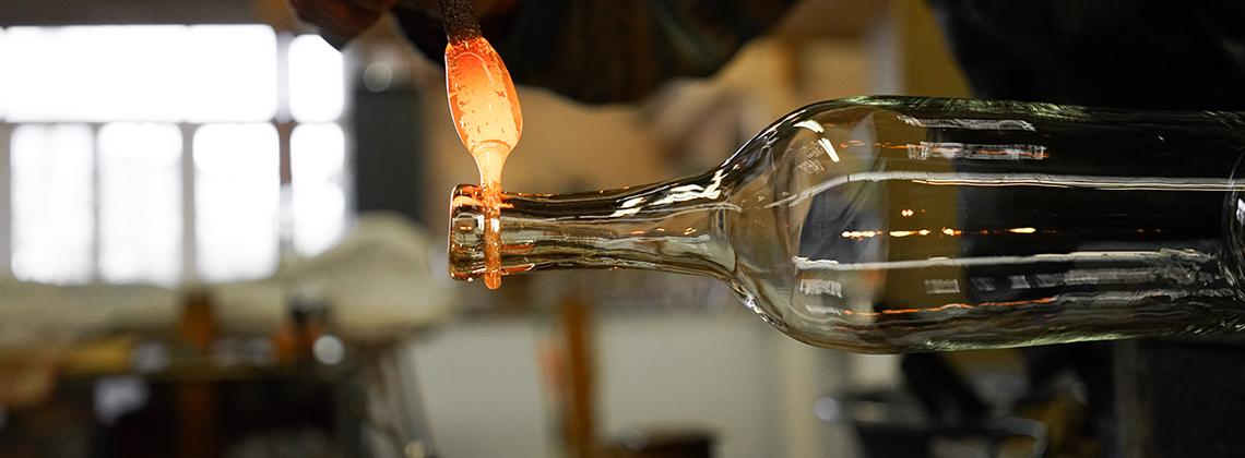 Le secret des bouteilles Bordelaises.