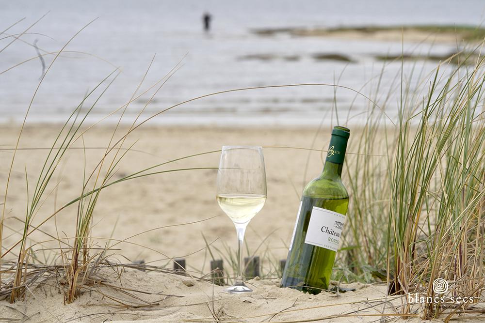 vin blanc sec dunes