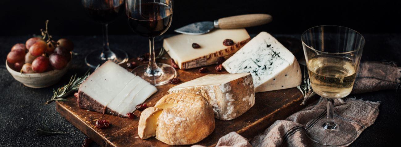 Cheese & wine pairings