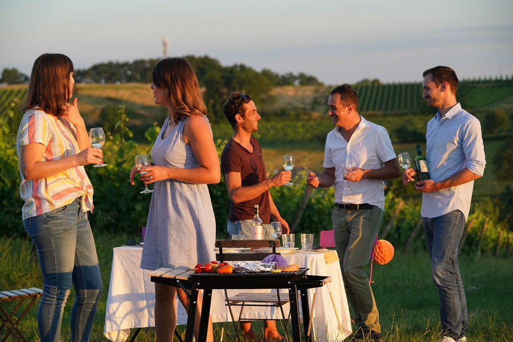 barbecue bordeaux wine
