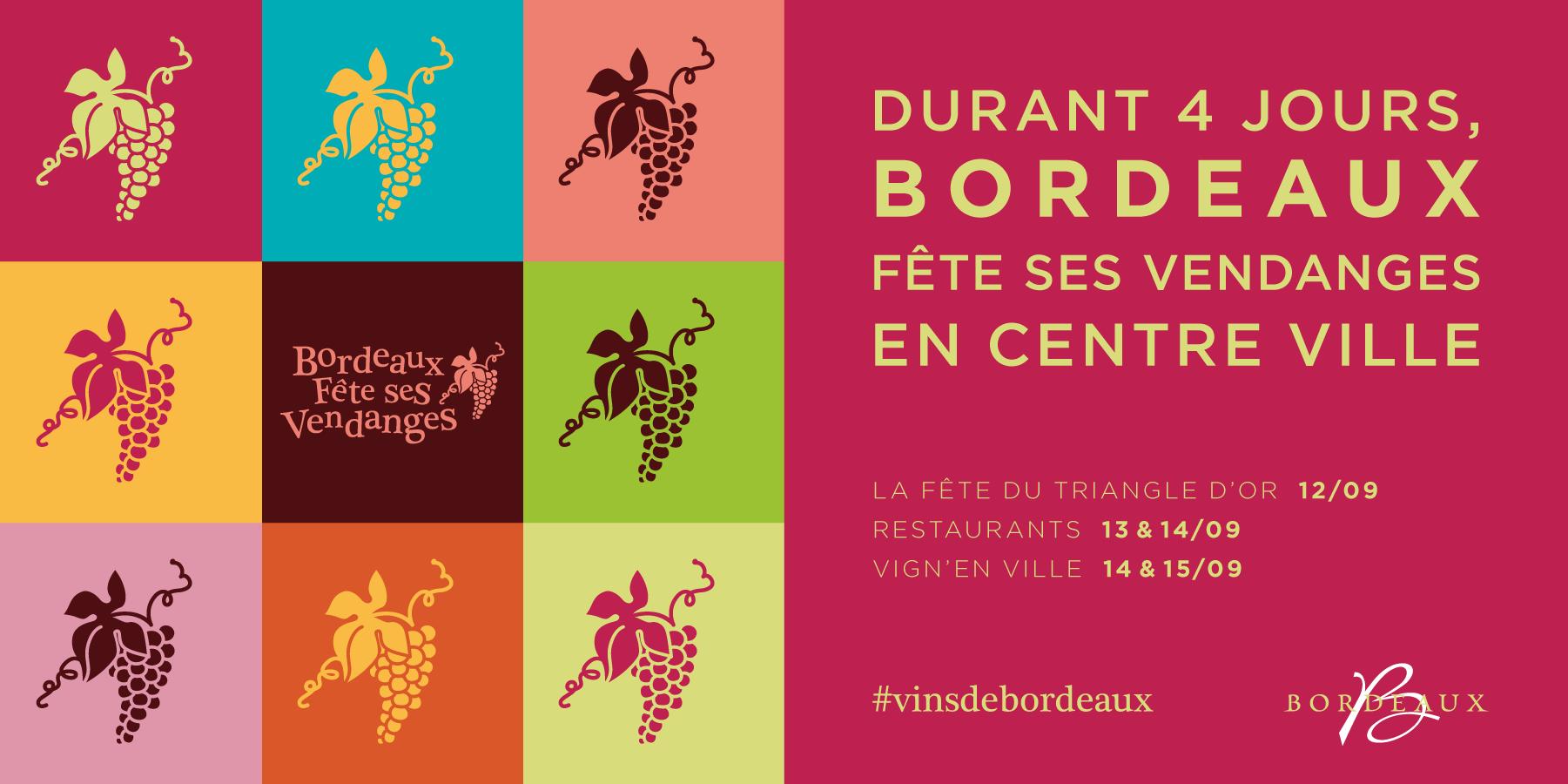 La fête des vendanges approche, 4 jours de fête se préparent à Bordeaux !
