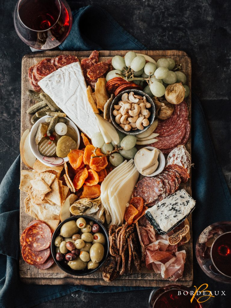charcuterie fromage vin