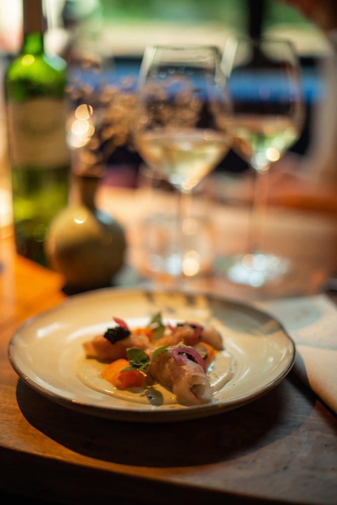 ravioli japonais vin blanc