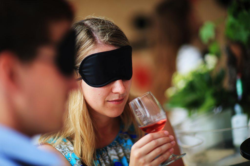 blind wijn proeven
