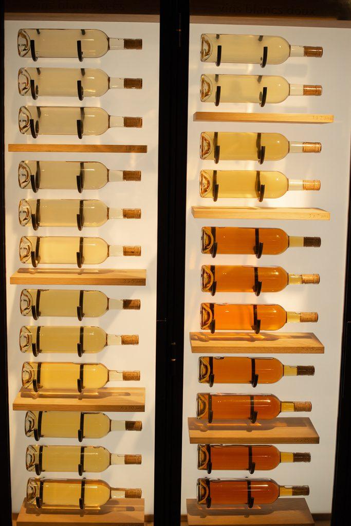 wijn kleuren wit