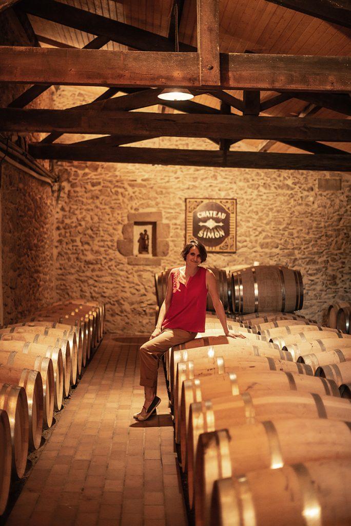 wijnkelder vrouw wijnmaker
