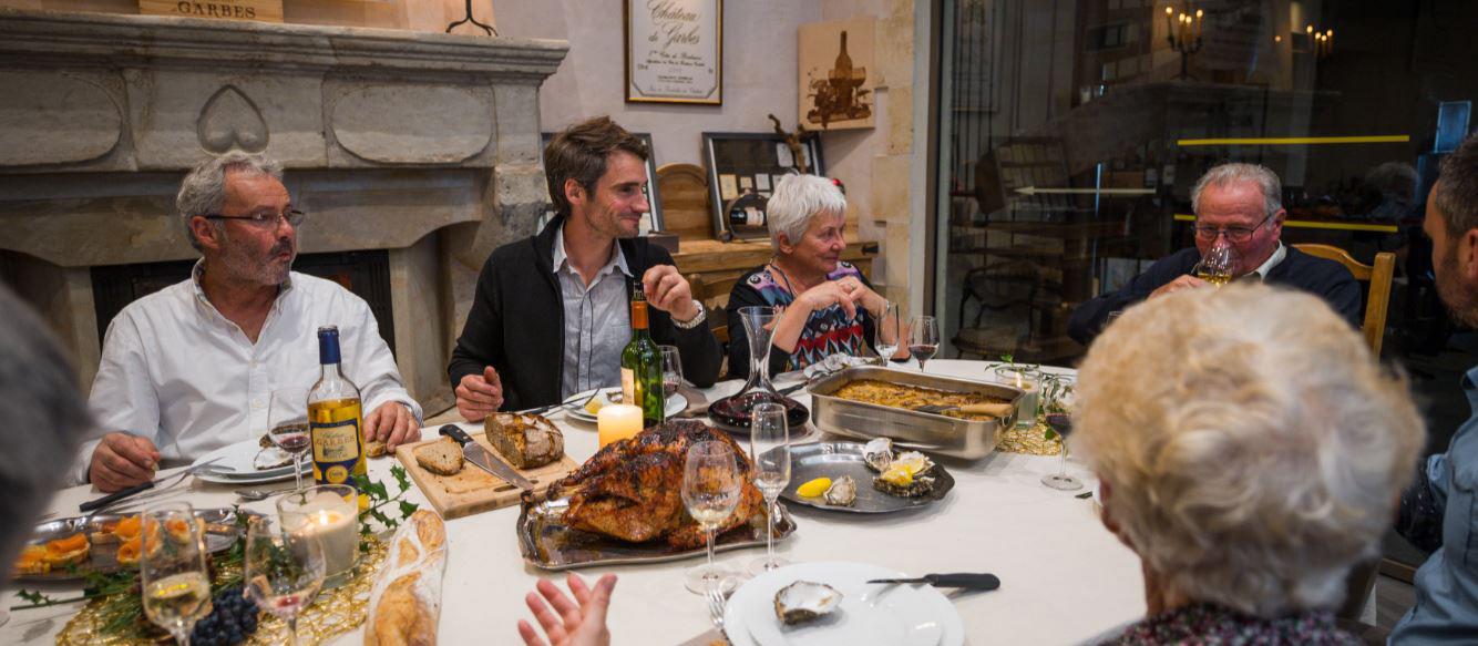 Weihnachten im Château de Garbes – Am Tisch mit vier Generationen