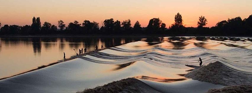 water golf vloedbranding