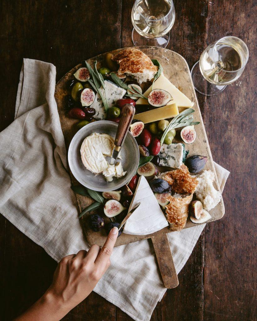 platter bordeaux white wine