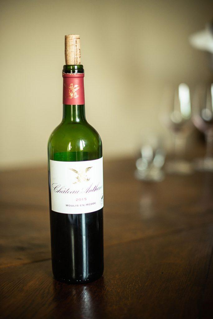 wijn rood fles