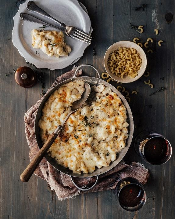 macaroni and cheese red bordeaux wine