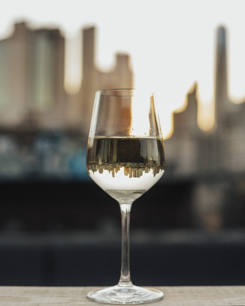 vin blancs skyline