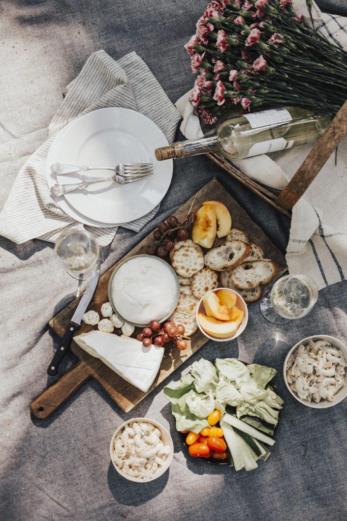 jardin pain vin
