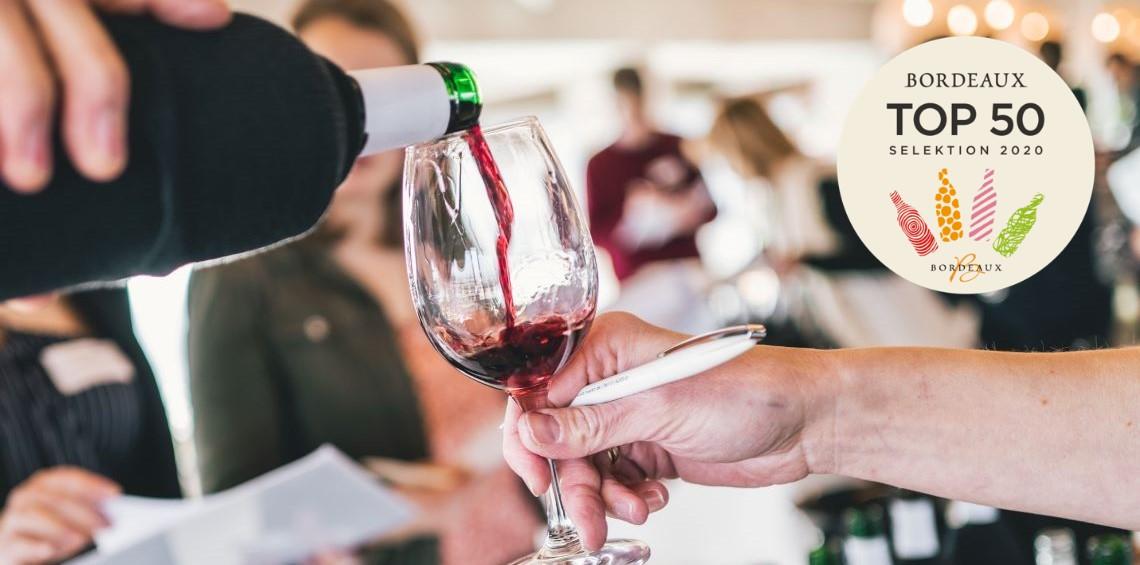Bordeaux TOP 50 Selektion 2020