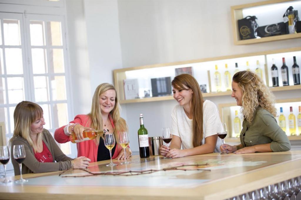 dégustation vins femmes