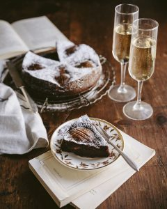 chocolate pear cake bordeaux wine