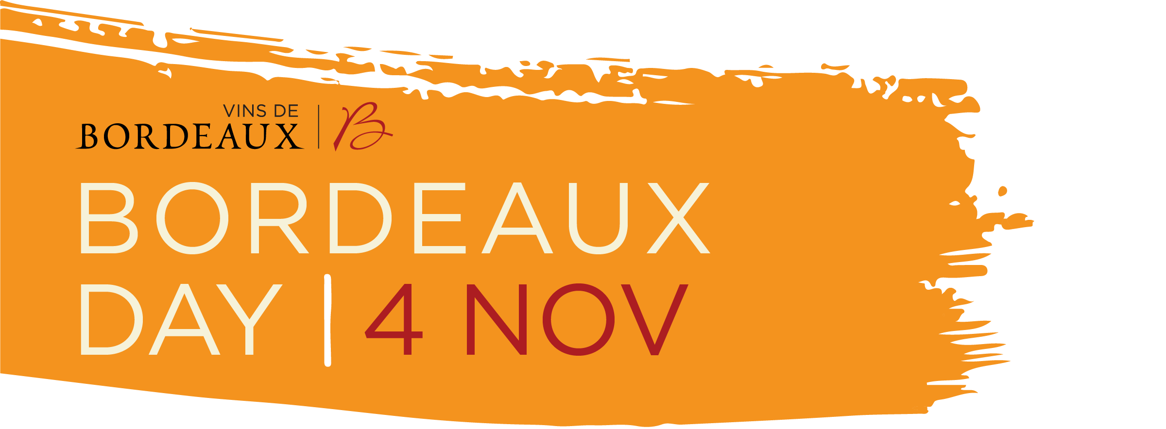 NEW DATE FOR BORDEAUX DAY – WEDNESDAY 4th NOVEMBER