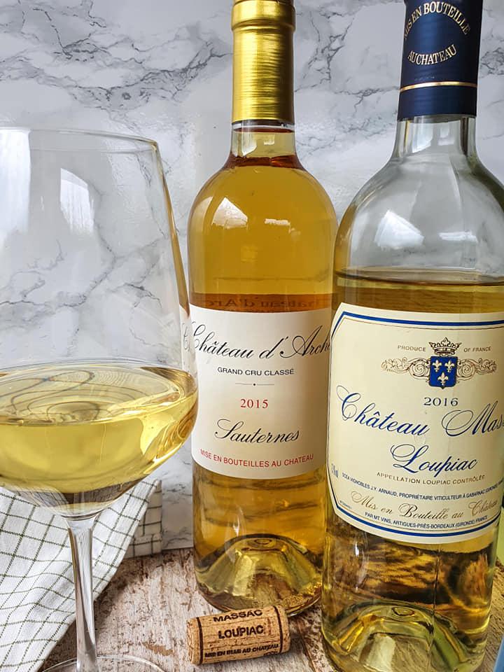 vin doux tartiflette