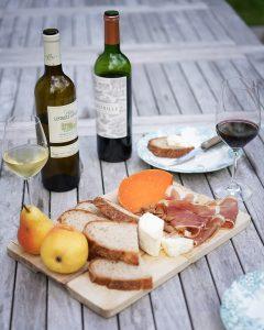 chateau lestrille bordeaux wine pairing food