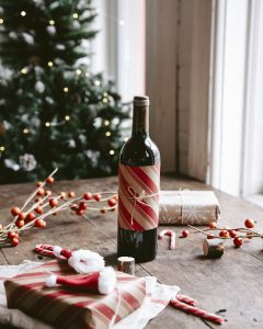 present gift bordeaux wine christmas