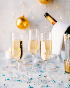 christmas bordeaux sparkling wine