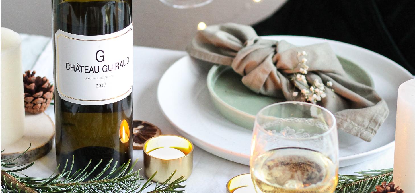 Un délicieux menu de fête avec des vins de Bordeaux assortis, composé par notre foodie @stoempitup