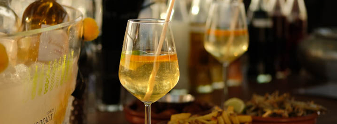 3 recettes de cocktails étonnants à réaliser avec nos vins blancs doux