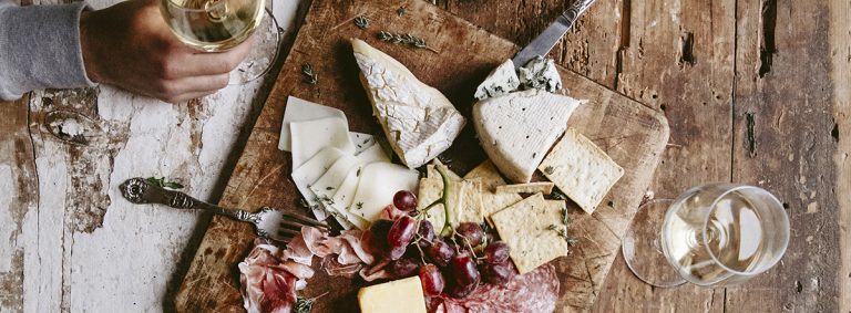 Try something other than red wine with your cheese