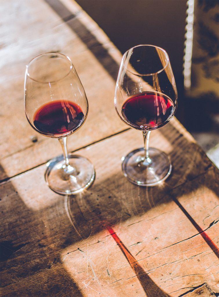 verre rouge vin