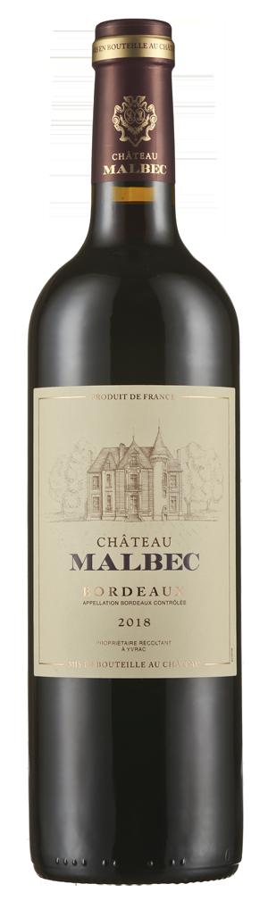 Château Malbec Bordeaux Rouge AOC