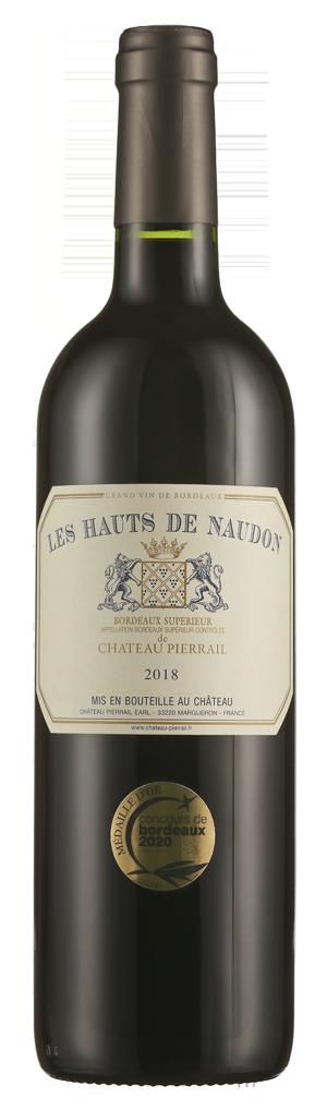 Les Hauts de Naudon de Château Pierrail