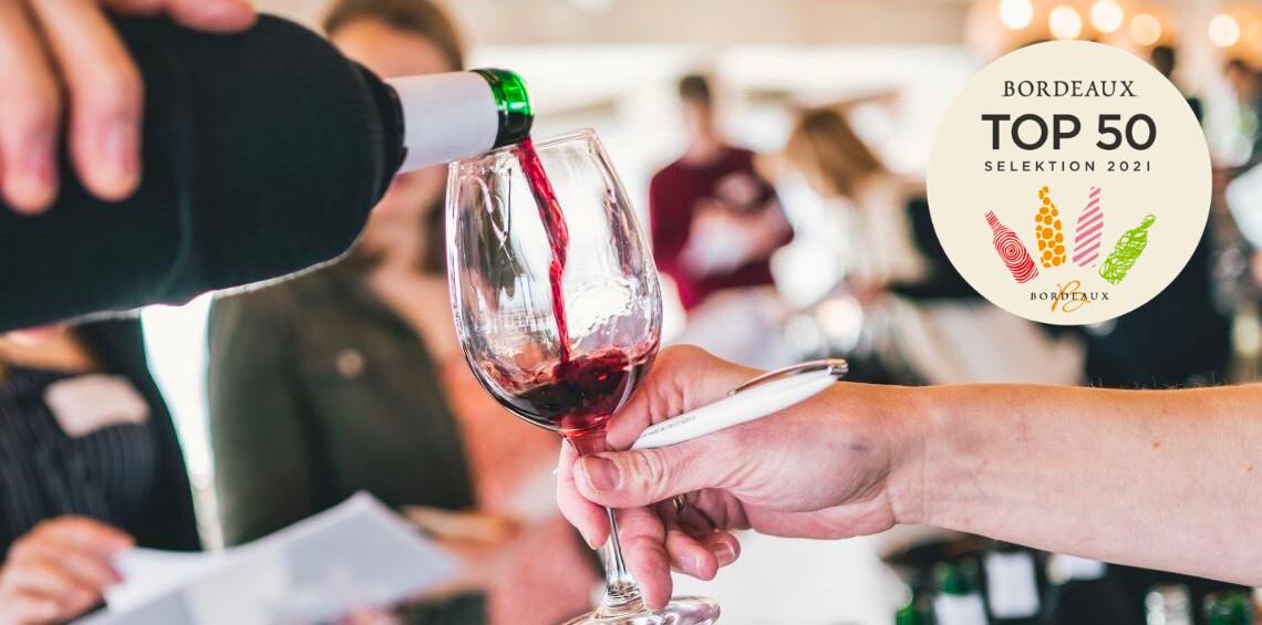 Bordeaux TOP 50 Selektion 2021