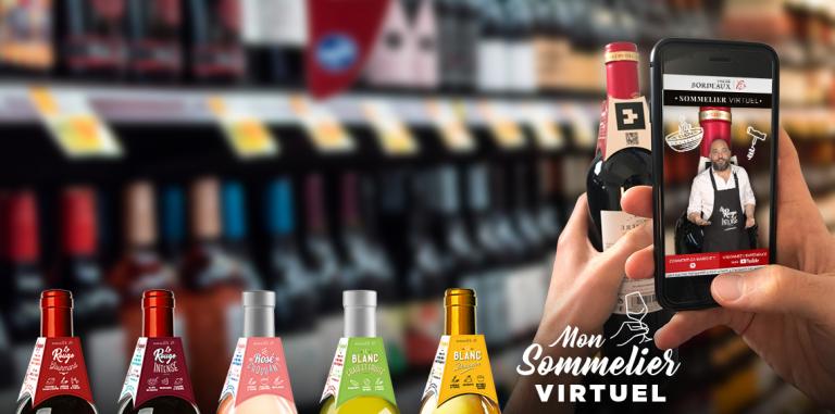 Le premier sommelier virtuel gratuit, pour ne plus jamais être perdu en achetant un vin.
