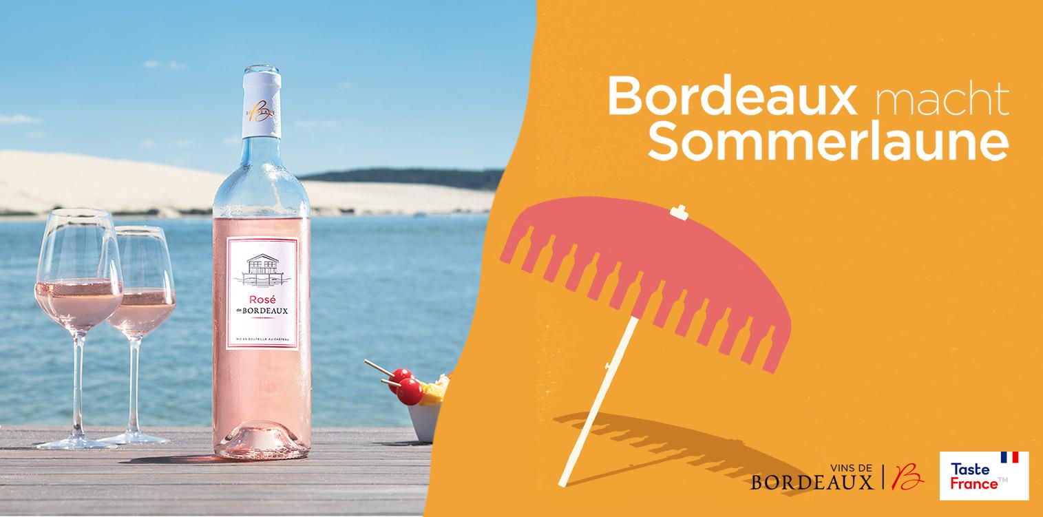 Sommer, Sonne, Bordeaux