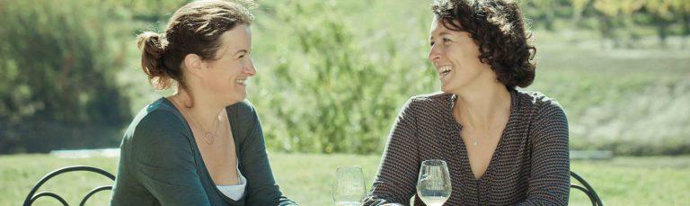 Marie en Sylvie Courselle, wijnbouw van vader op dochters