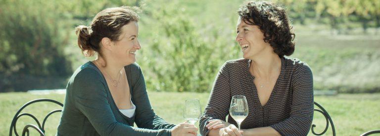 Marie et Sylvie Courselle, la vigne de père en filles
