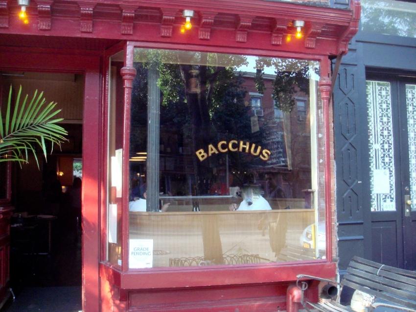 Portrait of Bacchus Wine Bar