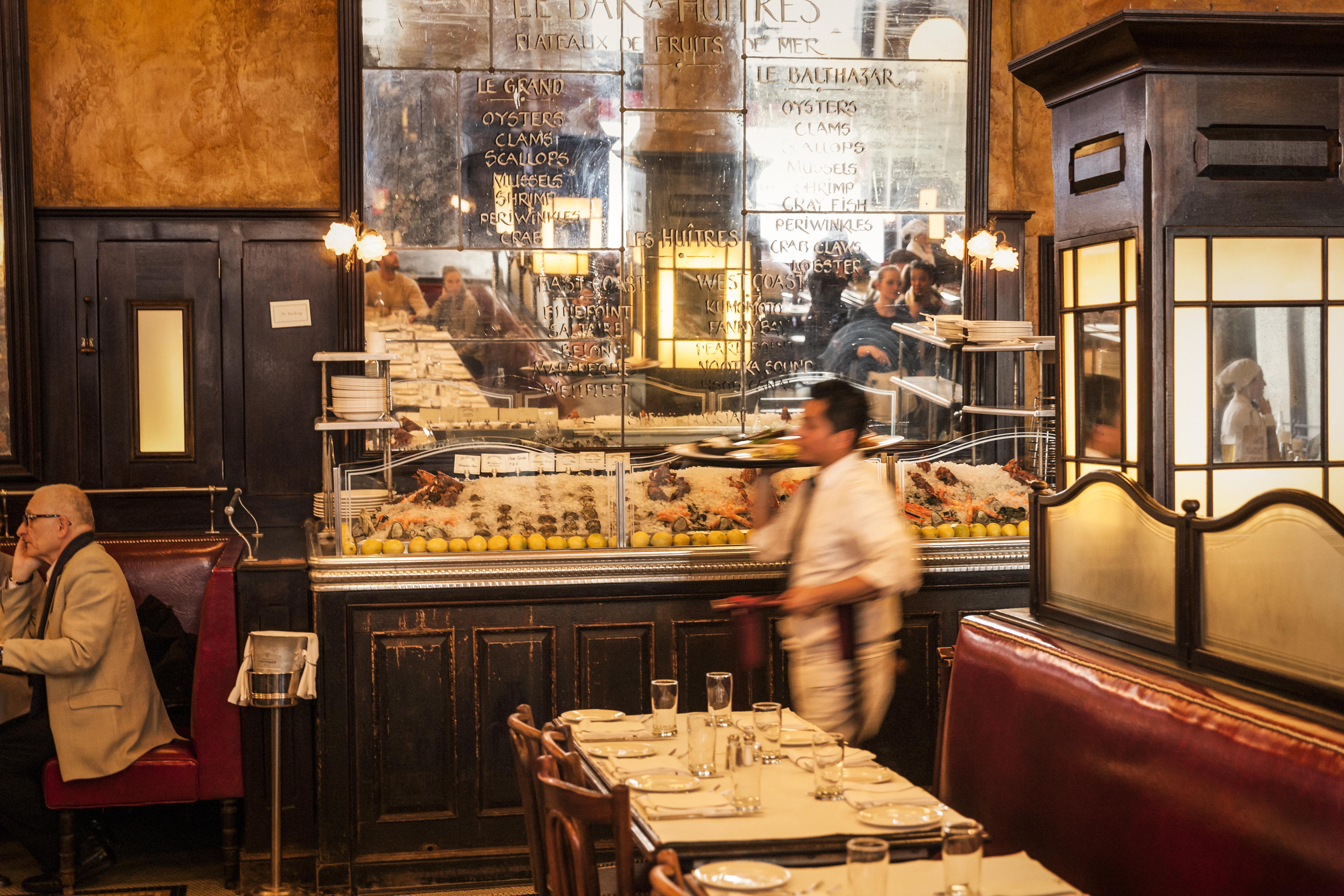 Portrait of Balthazar Restaurant