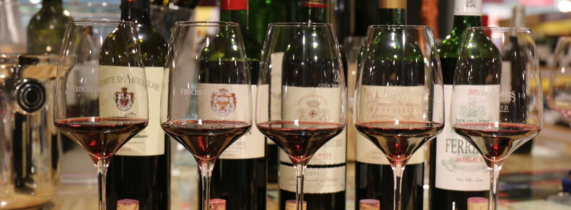 Weinprobe im Frischeparadies – Bordeaux in the City in Frankfurt am Main