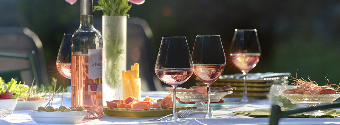 Bordeaux durch die rosarote Brille